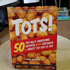 Tater Tot Cookbook -Unused